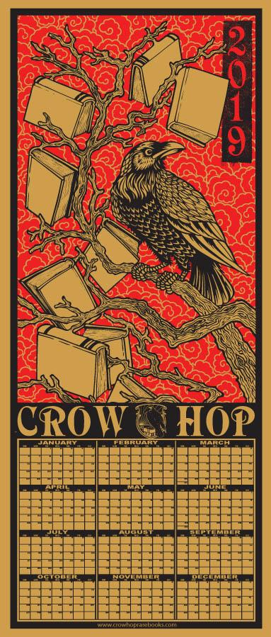 Crow Hop 2019 Silkscreened Calendar