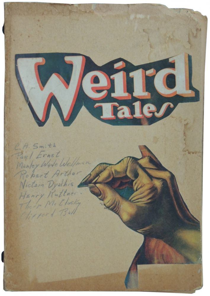 Homage to Weird Tales Vernacular Book