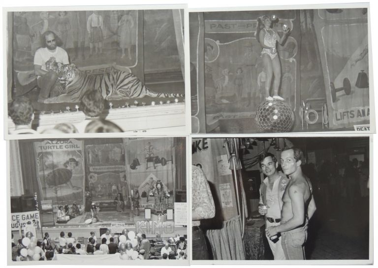 Four (4) Circus/Sideshow Photos from San Francisco c. 1978