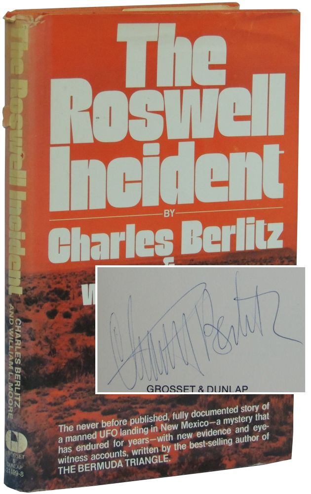 The Roswell Incident. Charles Berlitz, William L. Moore.