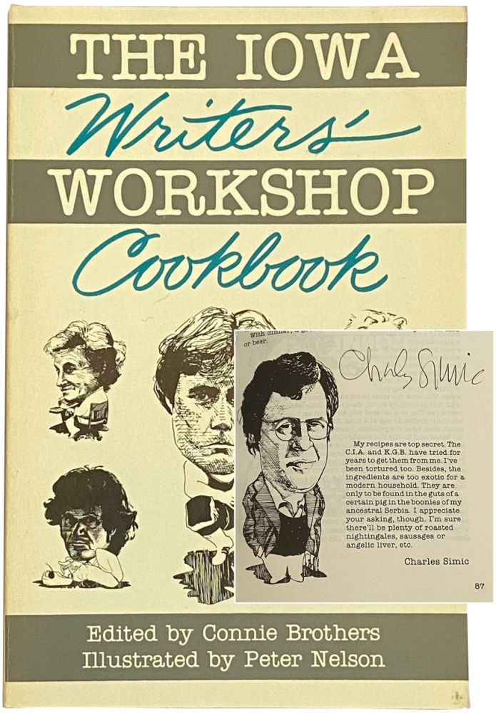 The Iowa Writers' Workshop Cookbook. Connie Brothers.