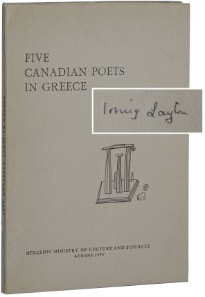 Five Canadian Poets in Greece. Theodore Sampson, ed