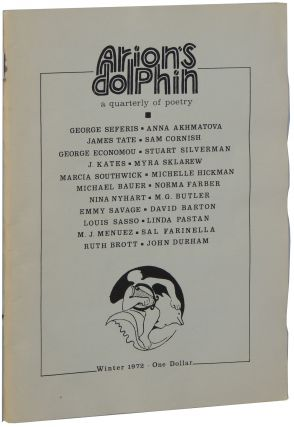 Arion's Dolphin. Volume 1, Number 2. Winter 1972
