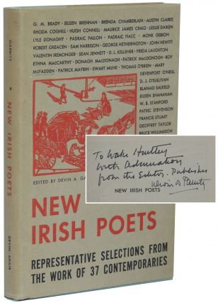 New Irish Poets: Representative Selections from the Work of 37 Contemporaries. Devin A. Garrity, ed