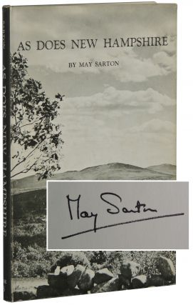 As Does New Hampshire. May Sarton