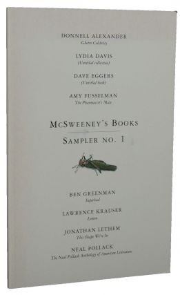 McSweeney's Books Sampler No. 1
