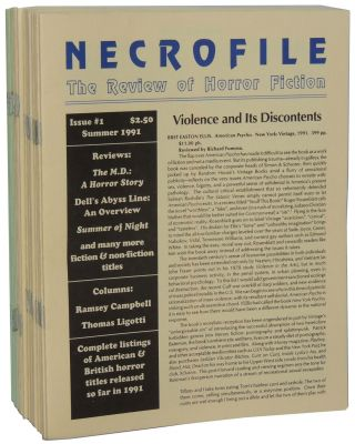 Necrofile: The Review of Horror Fiction; Issues #1-32. S. T. Joshi Stefan Dziemianowicz, eds...
