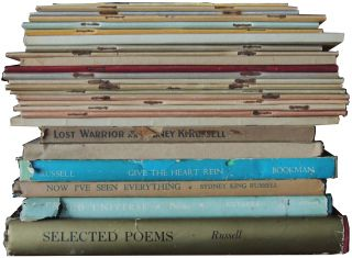 Poetry collection belonging to Sydney King Russell, poet, editor, composer.
