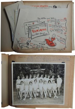 Snip 'n Tuck: The Busy Gal's Scrapbook. 1950s scrapbook belonging to a young woman from Columbus, GA