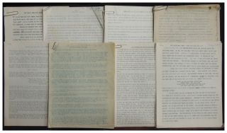 1950s-1980s Collection of Santa/Christmas Research and Unpublished Typescripts belonging to...