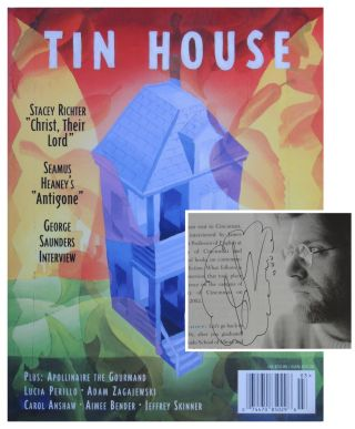 Tin House. Volume 6 Number 1. Fall 2004