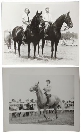 1940s Equestrian Photo Collection