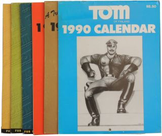 Six 1990s Tom of Finland Calendars