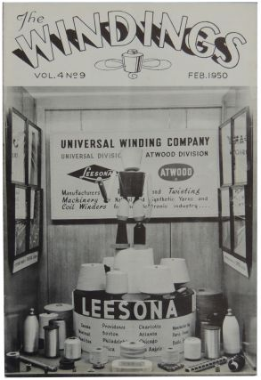Universal Winding Company of Cranston, RI 1945-1952 Newsletters and Ephemera