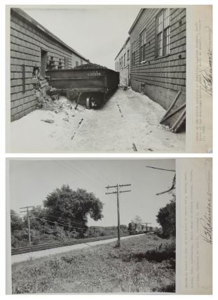 TRAIN ACCIDENT PHOTOGRAPHIC ARCHIVE, 1926-1963