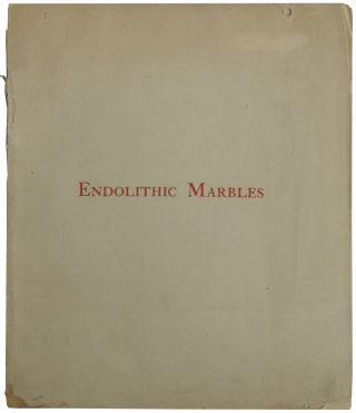 Endolithic Marbles: Their History and Use