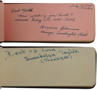 Autograph Book of 1948 Women's Track and Field Olympic Trials in Providence, RI.
