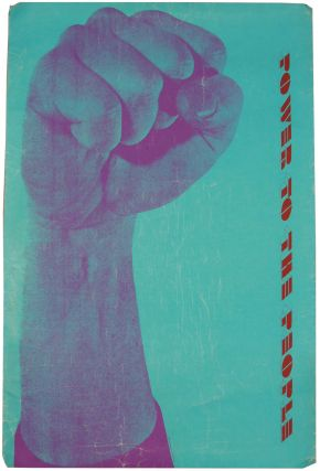 Black Panthers] [Poster] Power to the People
