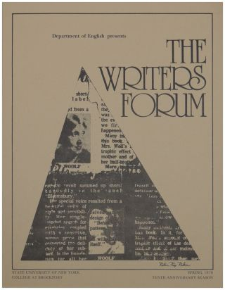Program for a reading by Gwendolyn Brooks on March 9, 1978 as part of the Tenth Anniversary...