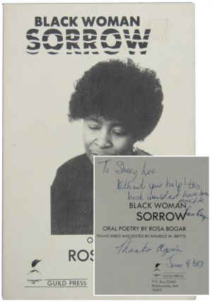 Black Woman Sorrow. Rosa Bogar