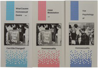 Six (6) Anti-Gay Brochures from the Family Research Institute