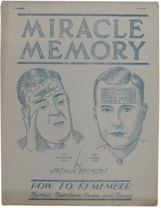 Miracle Memory: How to Remember Names, Numbers, Faces and Places (cover title). M-I-R-A-C-L-E...