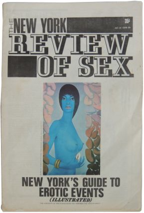 The New York Review of Sex. Volume 1 Number 1 (February 1969) and Volume 1 Number 2 (April 1969