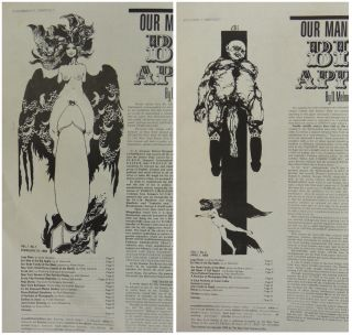 The New York Review of Sex. Volume 1 Number 1 (February 1969) and Volume 1 Number 2 (April 1969)