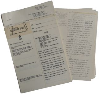 1952-1953 Television Scripts for Greyhound