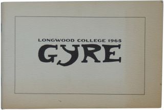 Gyre. Volume 1 Number 1, 1965-1966. Longwood College