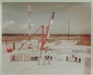 Photographs Related to the Blue Scout Air Force Rocket Program, 1960s