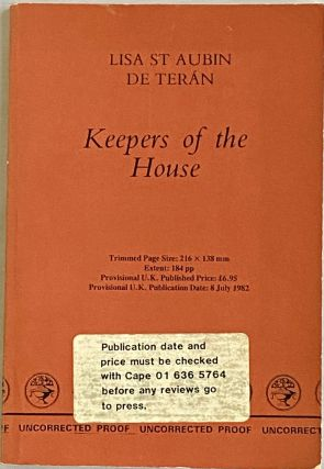 Keepers of the House. Lisa St. Aubin de Teran