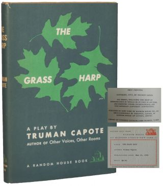 The Grass Harp: A Play. Truman Capote