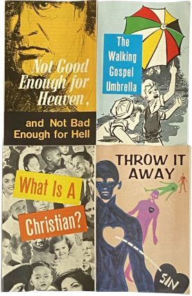 72 Religious Tracts from the Union Gospel Press, circa 1970