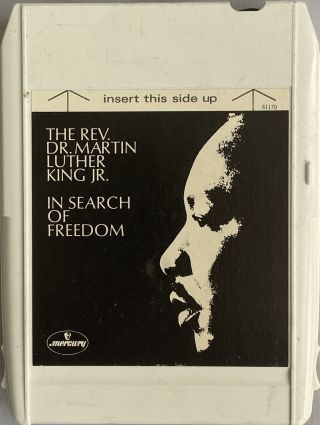 Three 8-Track Cartridges of Martin Luther King, Jr.