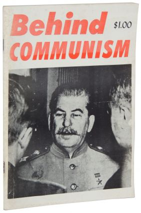 Behind Communism. Frank L. Britton